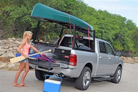 Toyota Tundra Ladder Rack Zee Invis A Rack Cargo Management System Truck Bed