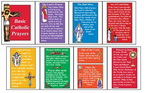 Basic Catholic Prayers Booklet