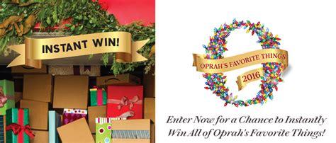 Oprah Instant Win Code - oprah s favorite things instant win