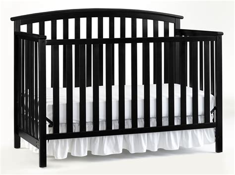 black 4 in 1 convertible crib graco graco freeport 4 in 1 convertible crib black