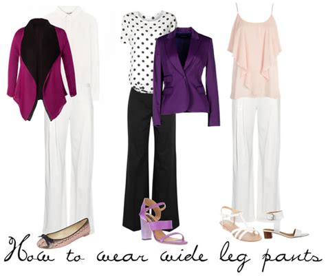 Tips On How To Wear Wide Leg by Tips On How To Wear Wide Legged And Ideas For Flared