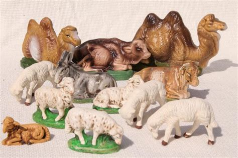28 best nativity animals for sale sale vintage