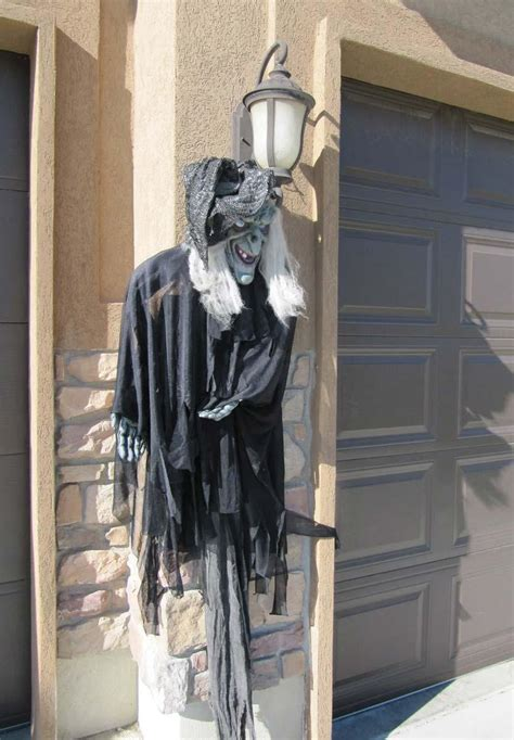 home made halloween decoration 25 outdoor halloween decorations ideas magment