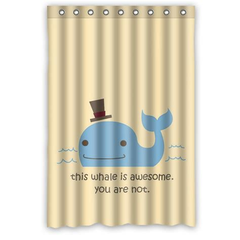 new arrival bathroom product printed new arrival bath curtain waterproof print animal whale shower curtains bathroom for