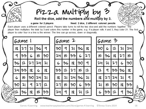 printable division games year 3 fun games 4 learning more no prep math games freebies