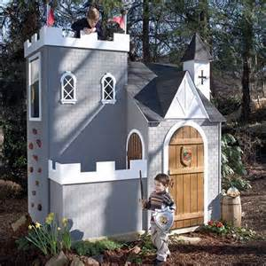 Backyard Clubhouses Colbert Castle Playhouse And Luxury Baby Cribs In Baby