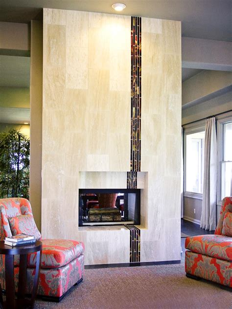 Floor To Ceiling Tiled Fireplace by What S About Your Fireplace Hgtv