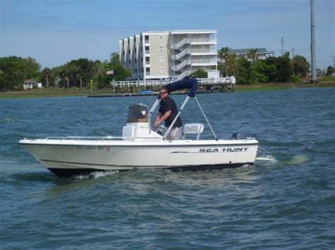 sea hunt boats charleston sc 2003 sea hunt 172 triton 17 foot 2003 sea hunt fishing