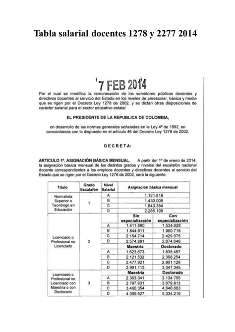 decreto tabla salarial 1278 2015 colombia decreto salarial 2015 1278 html autos post