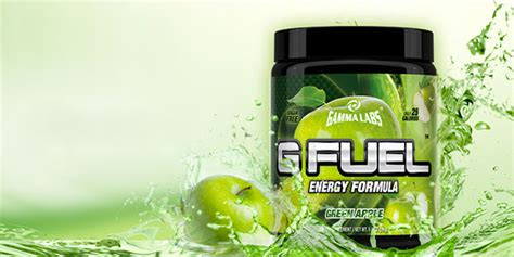 g fuel supplement facts green apple makes it eight for gamma lab s g fuel