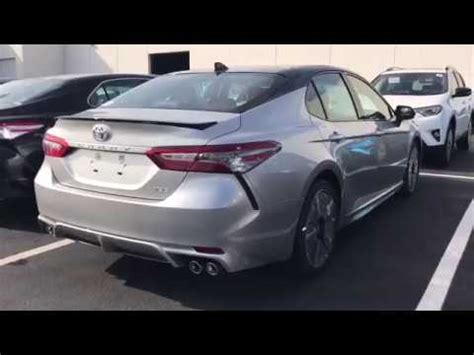 2018 toyota camry xse 4 cylinder silver/black 2 tone with