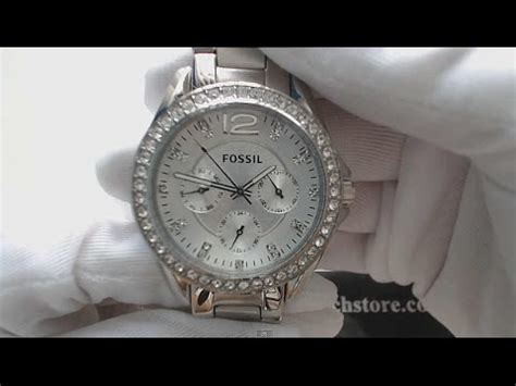 Fossil Multifunction Es3202 s fossil multi function crystallized