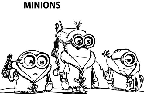 coloring pages minions movie goodies 169 despicable me