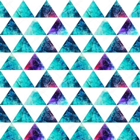 pattern de html watercolor triangles seamless pattern modern hipster
