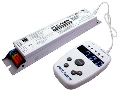 Led Driver fulham lighting global intelligent sustainable programmable led drivers