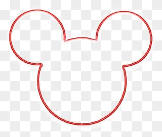 kids clipart design mickey mouse frame png transparent