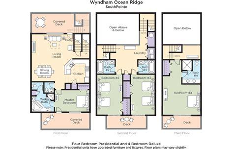 Residence Inn Floor Plan club wyndham wyndham ocean ridge