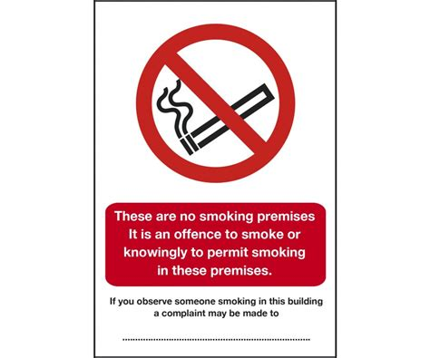no smoking signage requirements scotland scottish no smoking its against the law sign