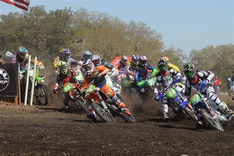 motocross racing schedule 2015 2015 gncc schedule announced racer x