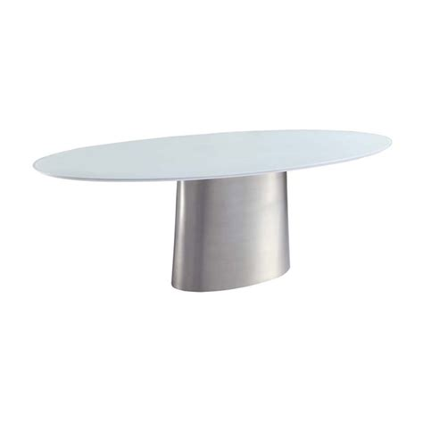 brushed nickel dining table oval glass top dining table with brushed nickel stainless
