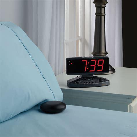 Sleeper Alarm Clock by The Sleeper S Alarm Clock Hammacher Schlemmer