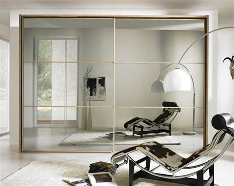 Mirror Sliding Closet Doors For Bedrooms by Sliding Bedroom Closet Door Mirror Small Room Decorating