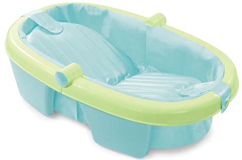 folding baby bathtub summer infant newborn to toddler fold away baby bath child