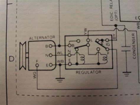 hj75 alternator wiring diagram images diagram sle and