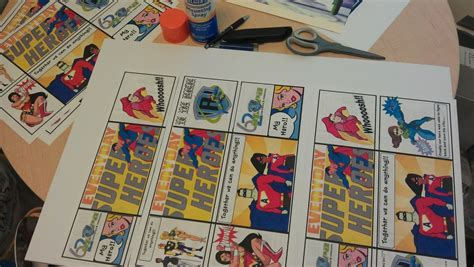 How To Make A Comic Book Out Of Paper - city s spot diy how to make comic book
