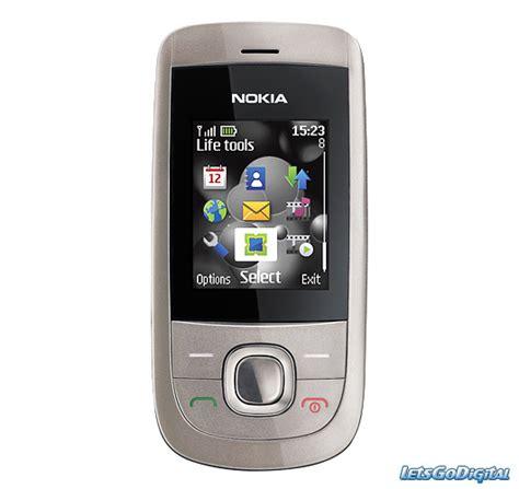 Hp Nokia 2220 Slide Rekondisi Mulus 2220