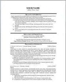 9 best best hospitality resume templates sles images on