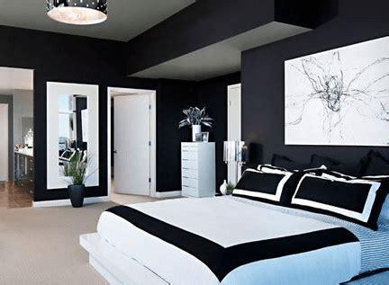 contoh desain kamar tidur warna hitam minimalis desain