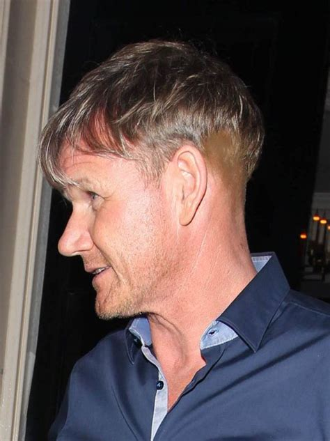 haircut after hairtramsplant gordon ramsay sparks hair implant rumours after bizarre