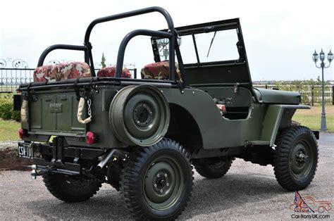 1949 Willys Jeep 1949 Jeep Willys Cj 2 2 2l