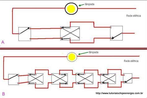 four way controle de uma l 226 mpada v 225 rios interruptores