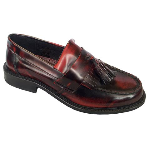 mens burgundy loafers ikon mens selecta burgundy loafers buy at marshall shoes