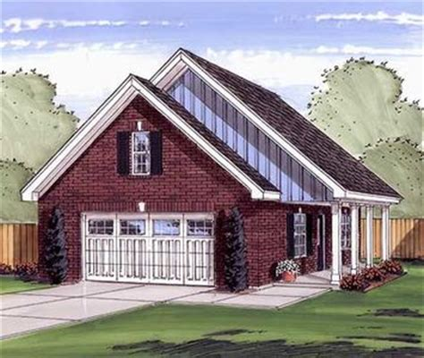 garage plans with porch 2 car garage or workshop with porch 62475dj