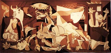 picasso paintings bombing of guernica and architecture mainly civil war 1936 9