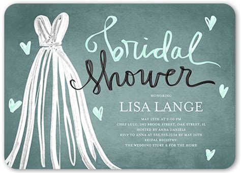 bridal shower invitations to make at home fashionable shower 5x7 stationery card by boyd shutterfly