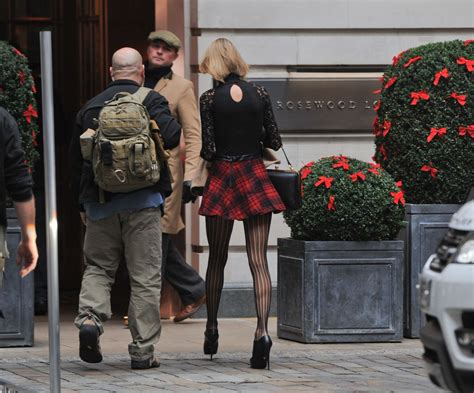 taylor swift london december taylor swift leggy arriving at her hotel in london