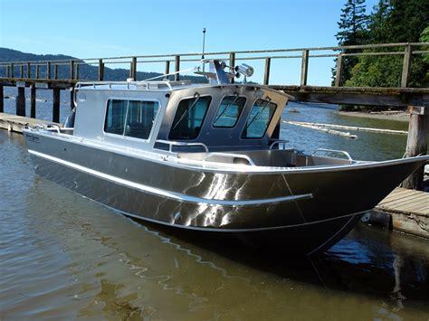 cabin boats 25 swiftsure aluminum cabin boat by silver streak boats