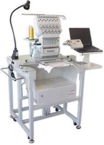 brother be1201 12 needle 12x16 embroidery machine head