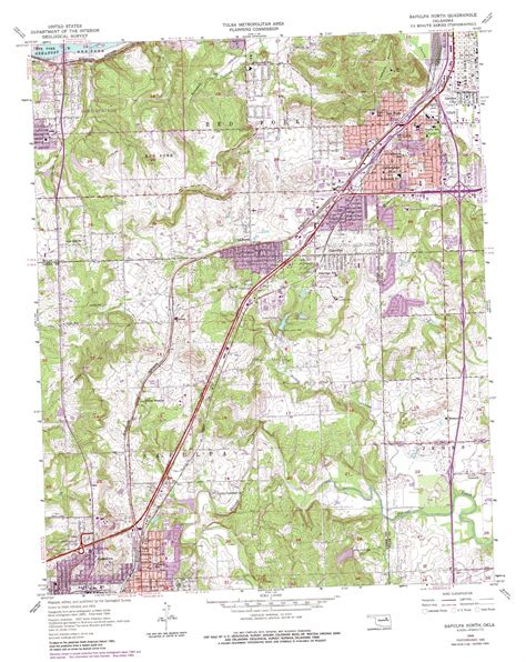 usgs maps sapulpa topographic map ok usgs topo 36096a1