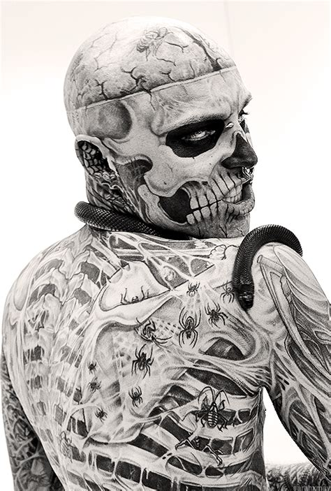 zombie boy tattoo rick genest boy tattoos rick genest
