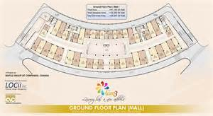 Shopping Mall Floor Plan Ground Floor Plan Mall