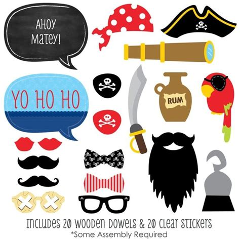 free printable photo booth props pirate 1000 id 233 es sur le th 232 me pirate photo booth sur pinterest