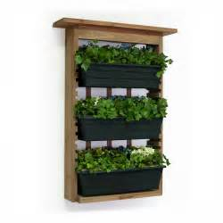 vertical wall planter vertical gardens with slide out planters