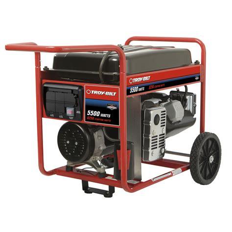 shop briggs stratton 5 500 running watts portable