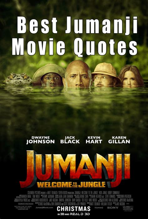 the jungle quotes jumanji welcome to the jungle quotes