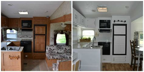 RV REMODEL   Before & After Pics   To Wander Freely